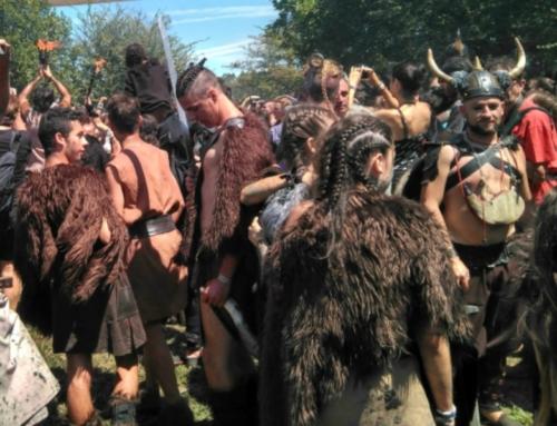 Het Vikingenfestival in Catoira