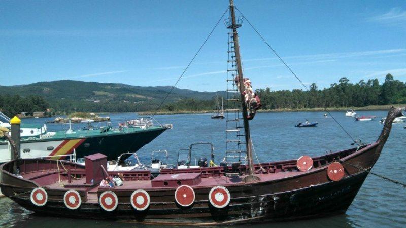 Oorlogsschip de Drakkar