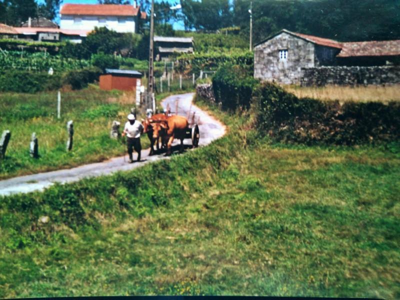 Toerisme in ons dorp in Galicië