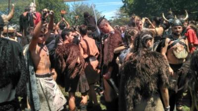 Feestje met Vikingen