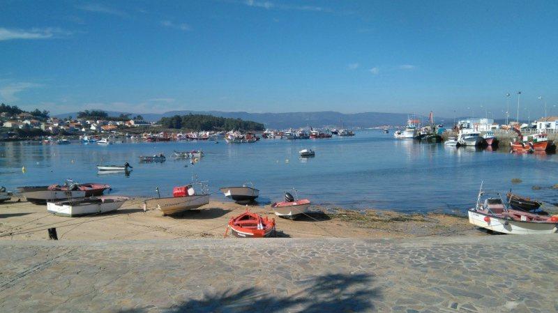 Illa de Arousa vissershaven