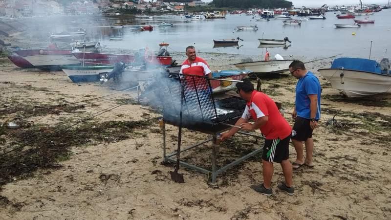 Isla de Arosa, zeevruchtenfeest