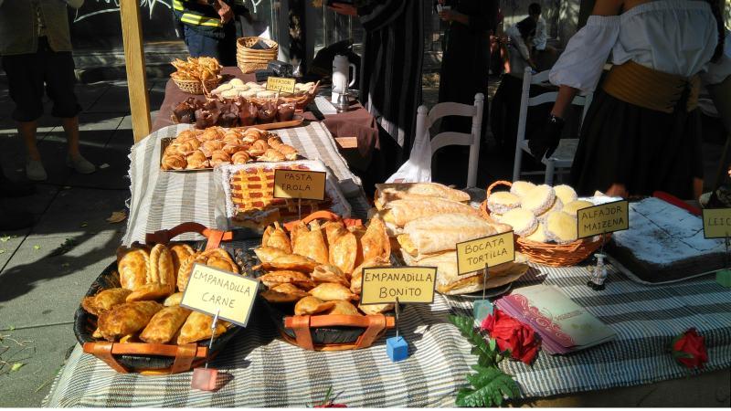 Eten op de Feria Franca