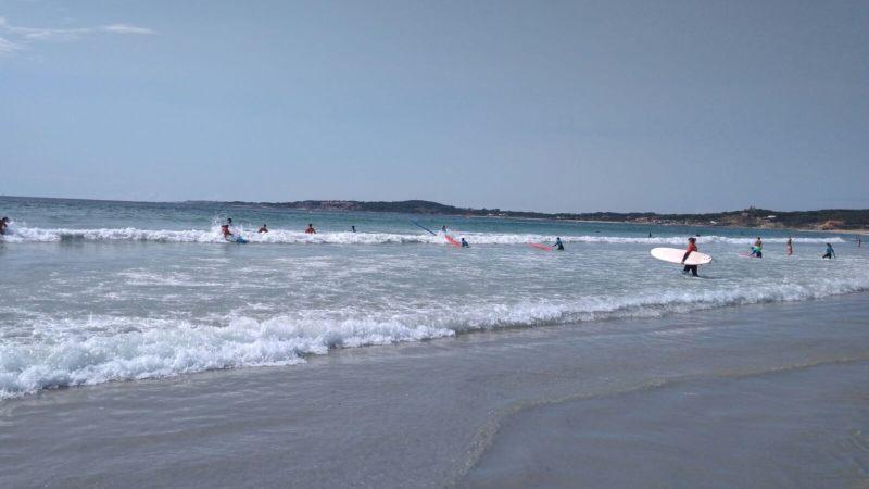 Surfstrand A Lanzada