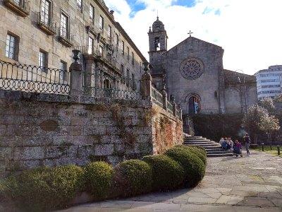 San Francisco kerk, centrum Pontevedra