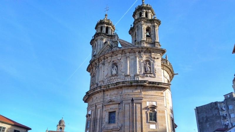 Pontevedra, Iglesia de la Peregrina
