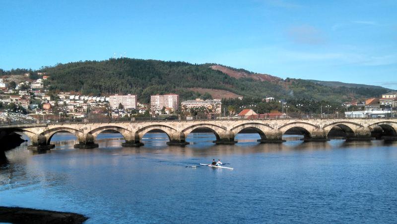 Kanovaren in Pontevedra