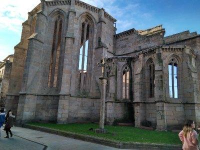 Ruïnes van het klooster van Santo Domingo