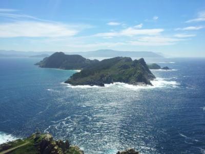 De Cíes Eilanden voor de kust van Galicië