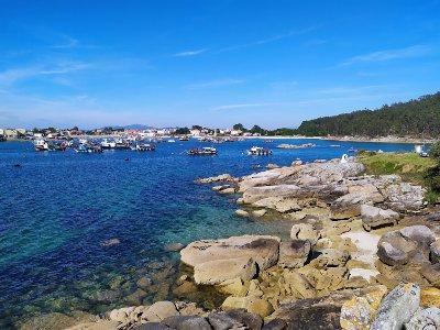 De haven van O Meloxo, O Grove