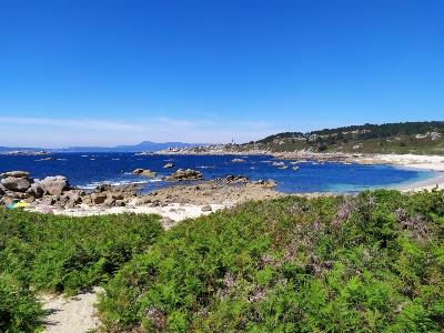 Wandelen in O Grove, de kust van Galicië
