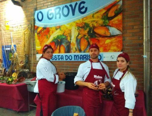 Het Zeevruchtenfeest in O Grove