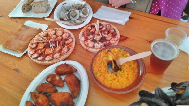 Zeevruchtenfeest in O Grove