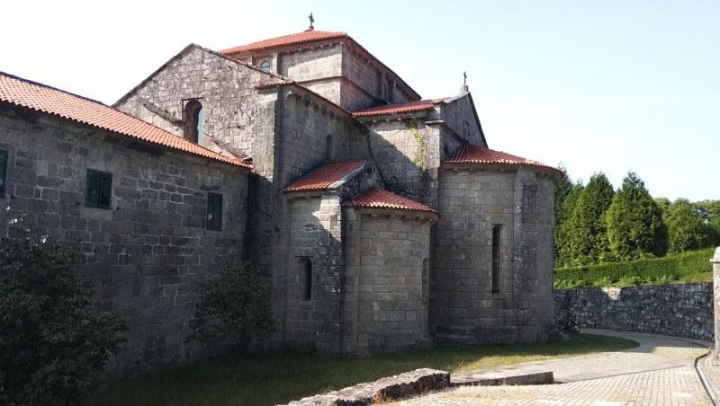 Klooster van Armenteira achterkant