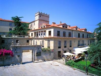 De parador in het historisch centrum van Pontevedra