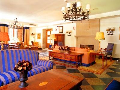 Salon van de Parador in Pontevedra