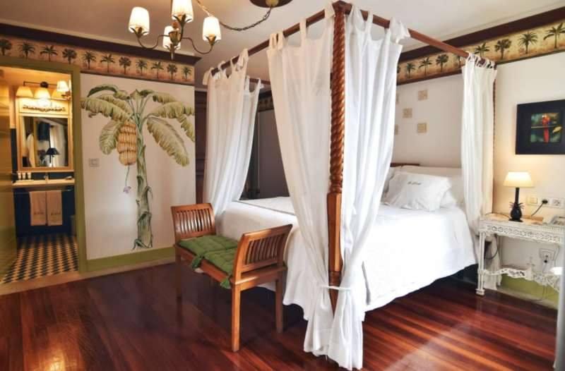Koloniale luxe in dit landelijke hotel in Pontevedra