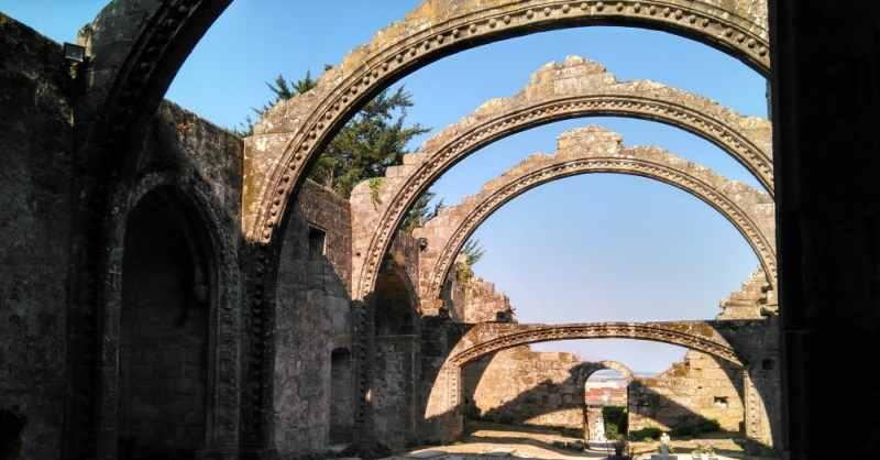 Ruïnes van Santa Mariña in Cambados