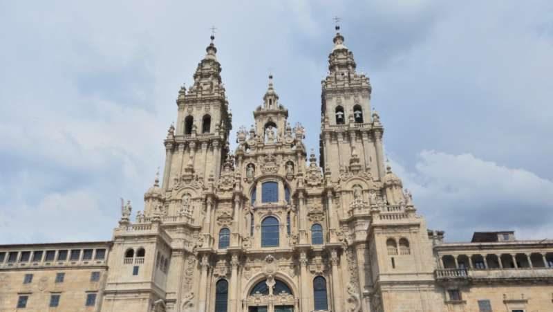 Kathedraal uit de steigers