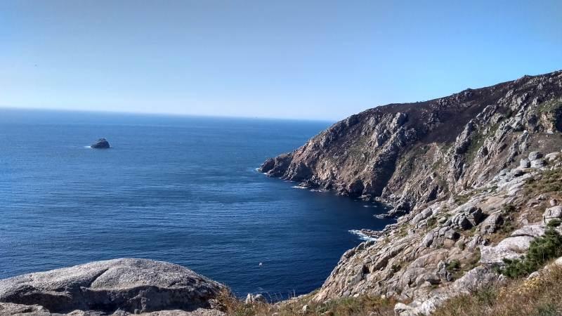 De Costa da Morte is hoog en ruig