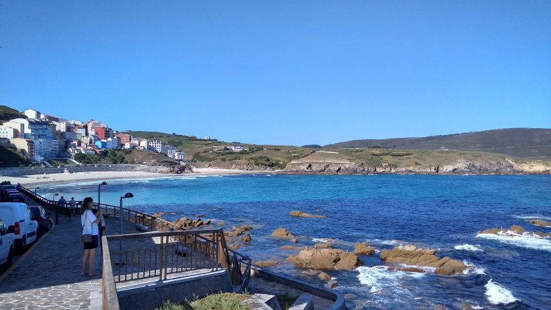 De Playa Mayor in Malpica