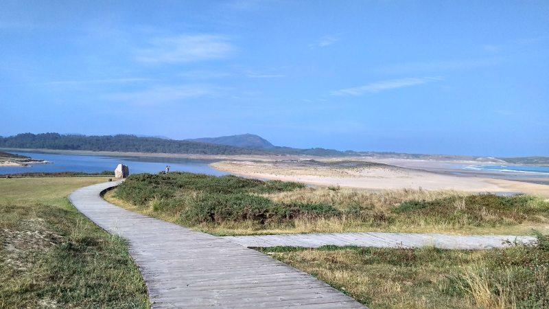 Playa de Valdoviño of A Frouxeira, Rías Altas
