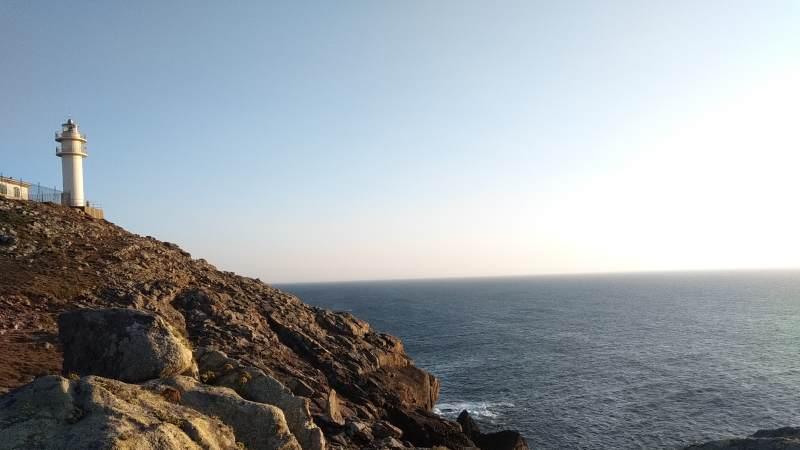Hoge kliffen bij Kaap Touriñán