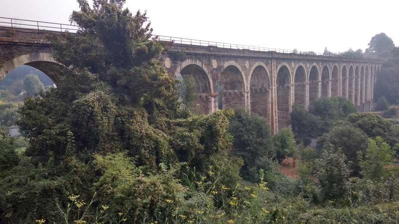 De Romeinse brug in de hoofdstad Lugo