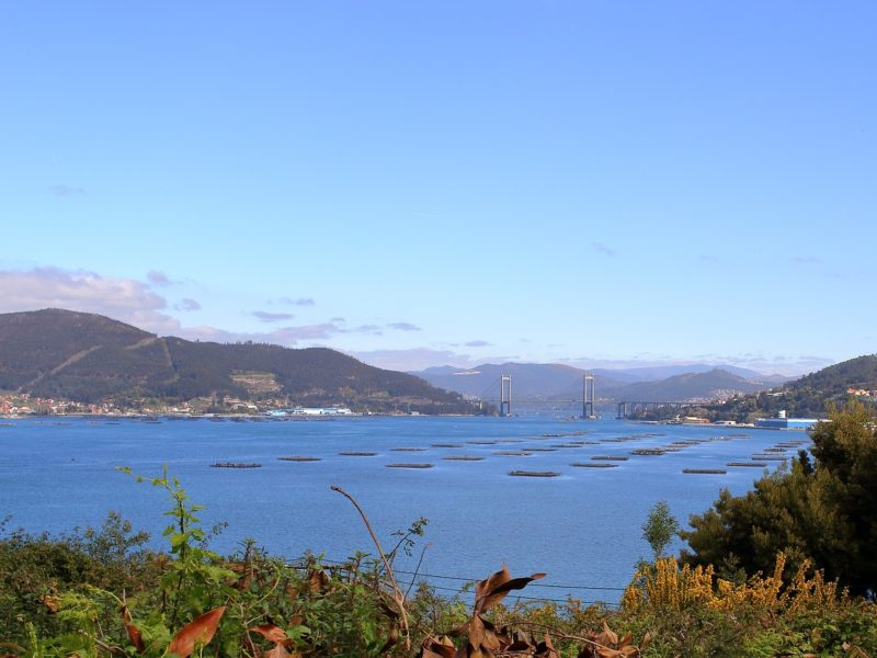 De rías en de kust van Galicië