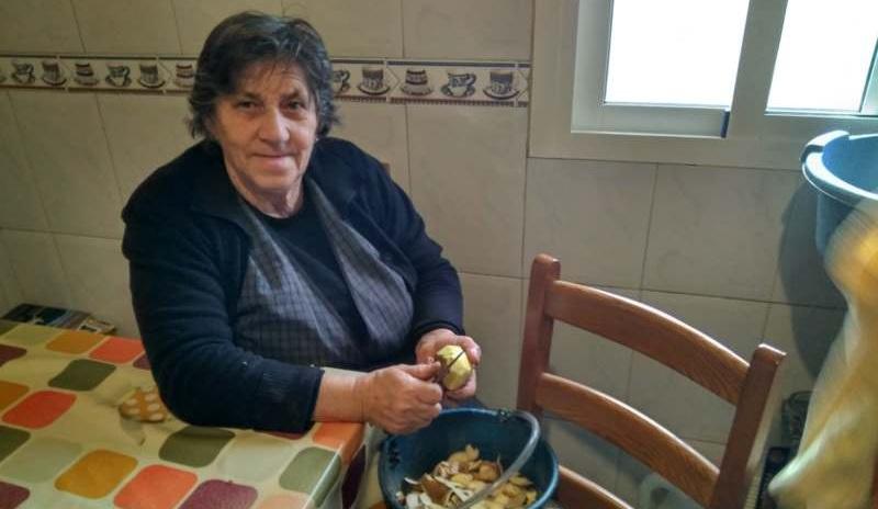 Aardappels uit eigen tuin