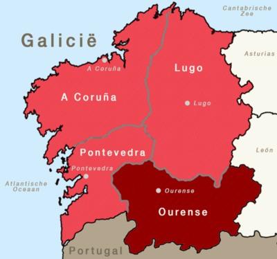 Informatie over Ourense in Galicië