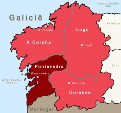 Provincie van Galicië, Pontevedra