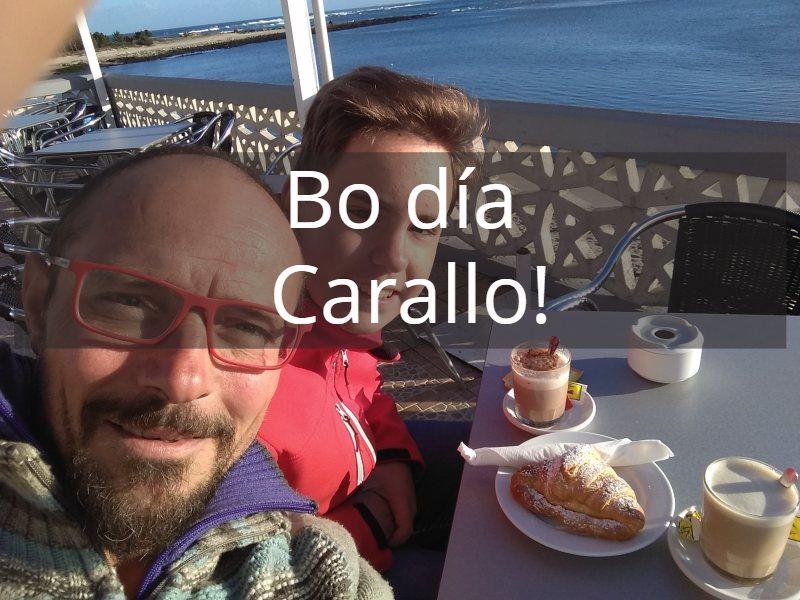 Carallo en de Galicische taal