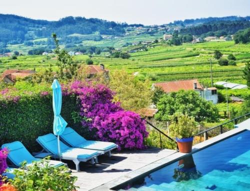 Landelijk hotel in de Rías Baixas