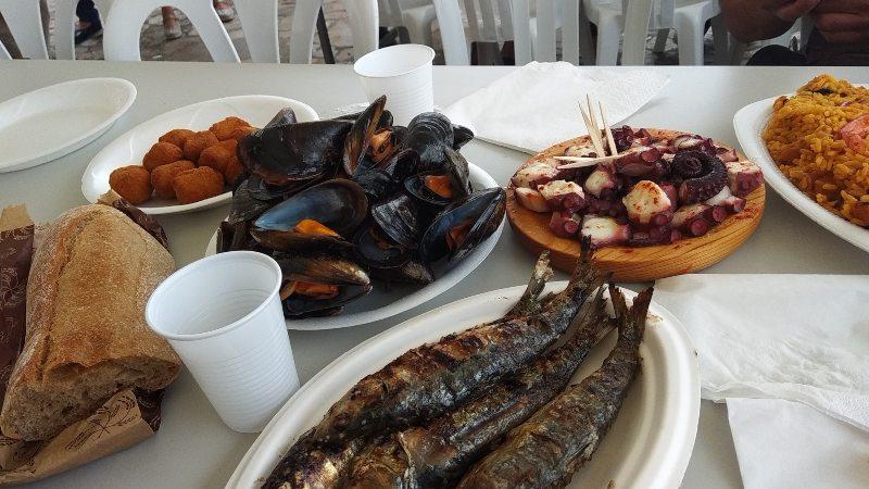 Gastronomische feesten Rías Baixas