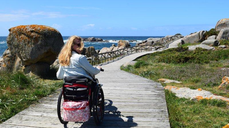 Prachtige maar korte rolstoelvriendelijke route in Galicië