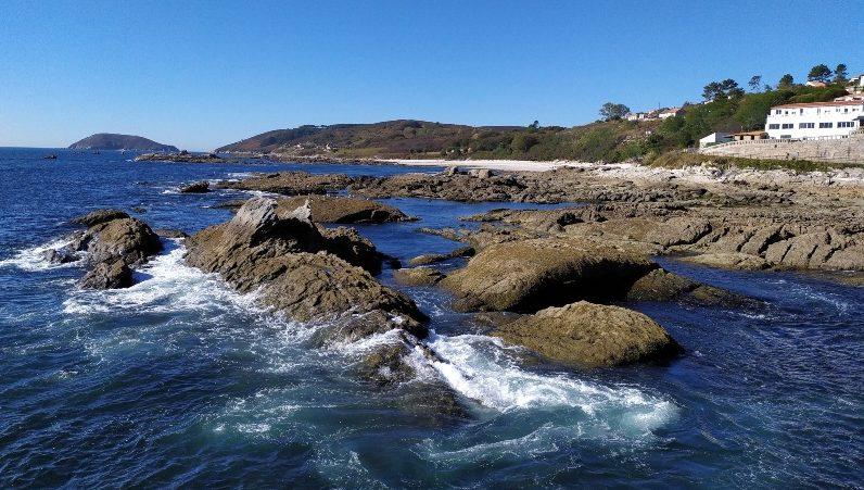 Atlantische Eilanden van Galicië, het eiland Ons