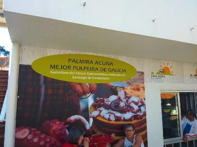 De beste pulpo van Galicië eet je op het eiland Ons