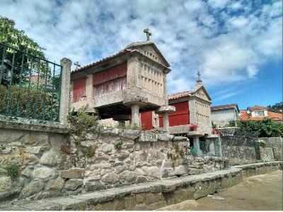 Cultuur, horreos in Combarro