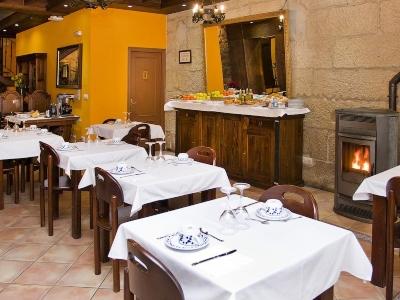 Hotel Allariz, ontbijtbuffet