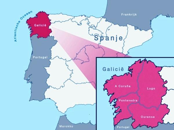 Een rondreis of vakantie in Galiciëë