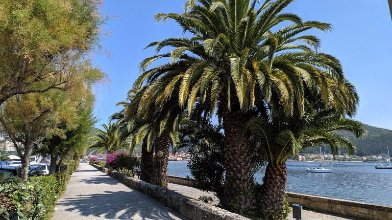 Boulevard in Muros