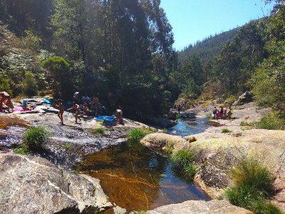 Natuurlijke zwembaden Río Pedra