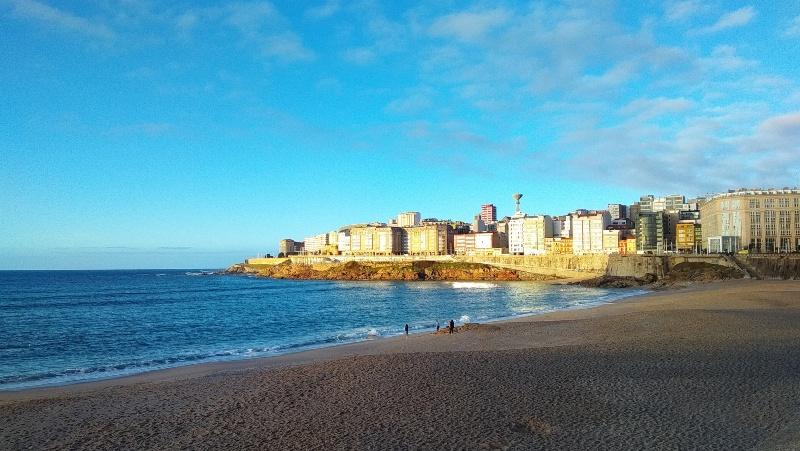 Strand van Riazor, A Coruña