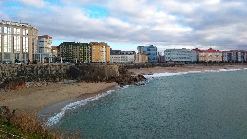 Riazor in de winter