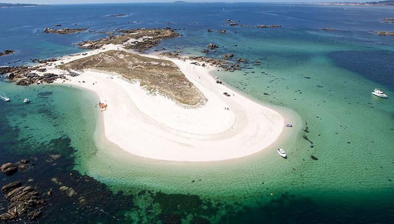 Eilanden voor de kust van O Salnés