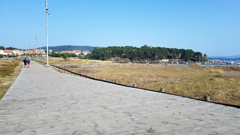 Sanxenxo, rondreis stad en strand Galicië