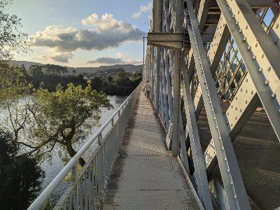De Internationale brug over de Miño