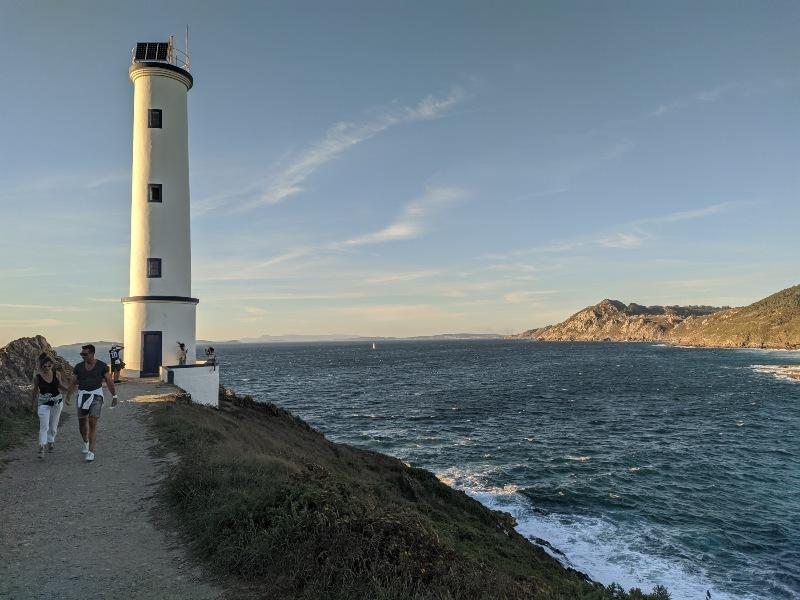 Vuurtoren Cabo Home, Pontevedra