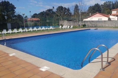 Zwembad strandhotel A Guarda